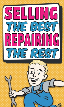 Selling the best repairing the rest