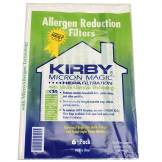 Kirby Vacuum Bags – 6 Hepa Bags